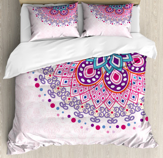 Ornamental Figure Duvet Cover Set