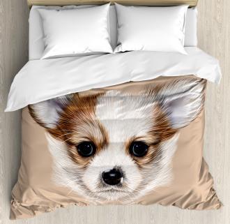 Cute Little Furry Friend Duvet Cover Set