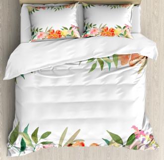 Soft Flower Petals Duvet Cover Set