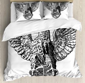 Italian Rome Heraldry Duvet Cover Set