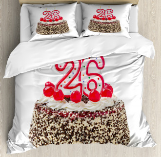 Yummy Cake Candles Duvet Cover Set
