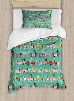 Abstract Dress Up Duvet Cover Set