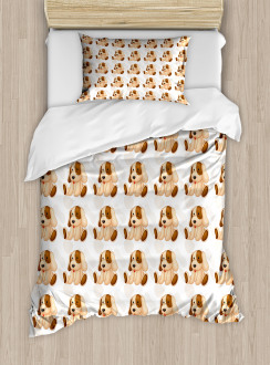Stuffed Puppy Toy Duvet Cover Set