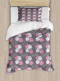 Valentines Day Motifs Duvet Cover Set