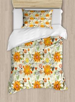 Cheerful Spring Art Duvet Cover Set
