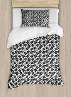 Floral Design Duvet Cover Set