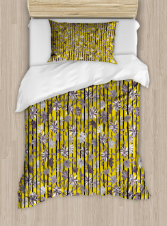 Exotic Lily Blossoms Duvet Cover Set