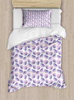 Blended Watercolor Petal Duvet Cover Set