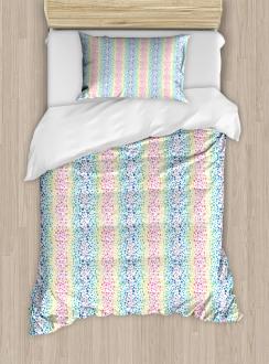 Color Transition Dots Duvet Cover Set