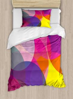 Colorful Circles Duvet Cover Set