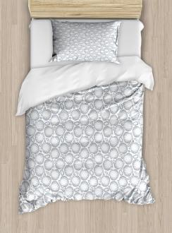 Pointilist Scallops Duvet Cover Set