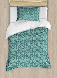 Marine Concept Elements Duvet Cover Set