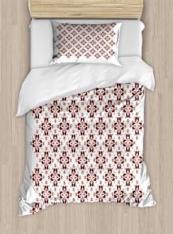Indonesian Native Tile Duvet Cover Set