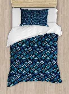 Tribal Ethnic Pattern Duvet Cover Set