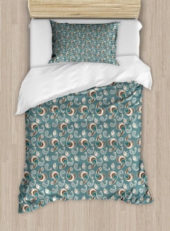 Vintage Abstract Duvet Cover Set
