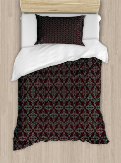 Abstract Baroque Duvet Cover Set