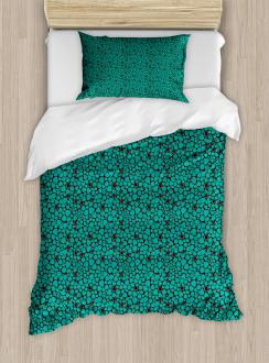 Abstract Tile Duvet Cover Set