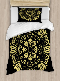 Stylized Frame Duvet Cover Set