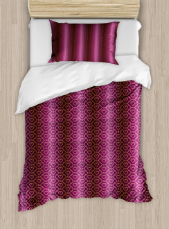 Zigzag and Hearts Duvet Cover Set
