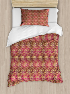Swirly Oriental Duvet Cover Set