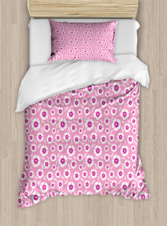 Petals with Bugs Duvet Cover Set