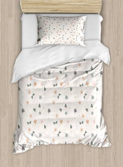 Bugs and Dandelions Duvet Cover Set