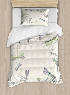 Forest Animals Circle Duvet Cover Set