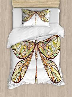 Colorful Bug Design Duvet Cover Set