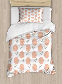Pastel Floral Spring Duvet Cover Set