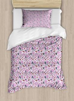 Garden Art Pattern Duvet Cover Set