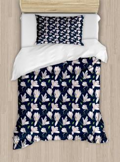 Japanese Sakura Flower Duvet Cover Set