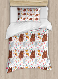 Mothers Day Baby and Mom Duvet Cover Set