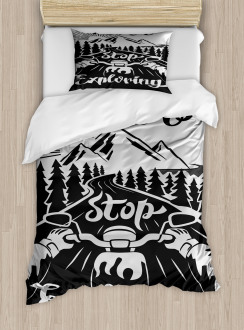 Road to the Mountains Duvet Cover Set
