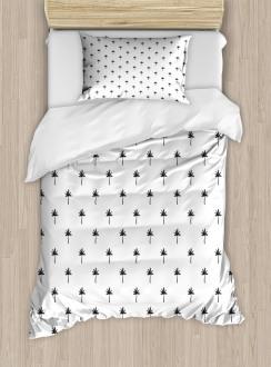 Minimalist Leafage Design Duvet Cover Set
