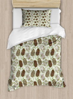 Greenland Foliage Forest Duvet Cover Set
