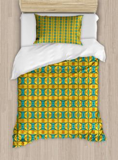 Kaleidoscopic and Ethnic Duvet Cover Set
