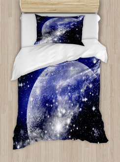 Nebula Galaxy Scenery Duvet Cover Set