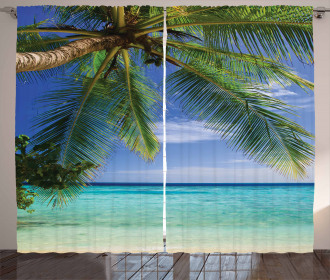 Paradise View Maldives Curtain