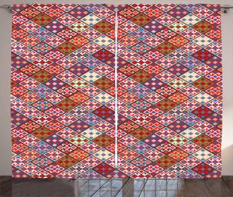 Nomadic Rug Tribal Curtain