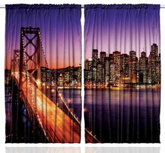 American Bridge Curtain
