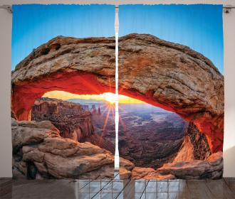 Utah National Park Curtain