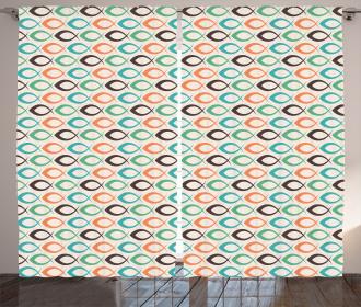 Aquatic Life Ocean Fish Curtain