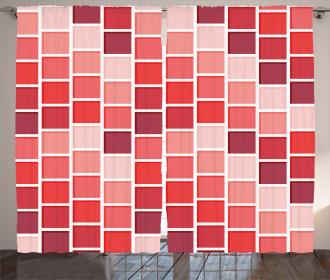 Tile Rectangle Square Curtain