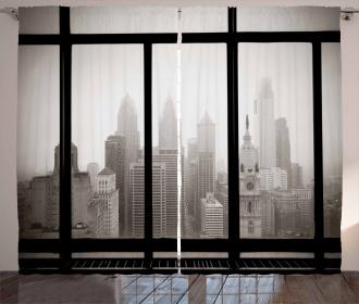 Philadelphia City Roof Curtain