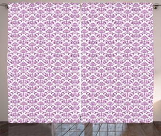 Floral Lavender Bloom Curtain