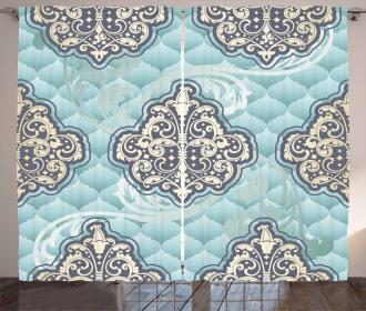 Rococo Era Designs Curtain