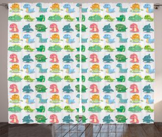 Dinosaur Wild Beast Curtain