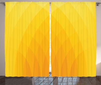Color Shades Modern Curtain