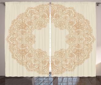 Victorian Feminine Art Curtain