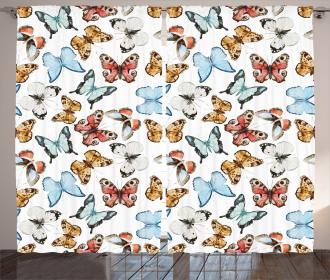 Bohemian Butterflies Curtain